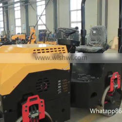 Mini 3 Ton Steel Wheel Type Road Roller Compactor For Sale
