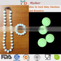 New non toxic bpa free silicone beads and jewelry makingb/pa free silicone beads for baby