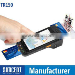 barcode scanner NFC 3G GPS Printer android emv ic card reader/writer