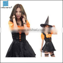 Halloween costume sexy magician witch dress costumes