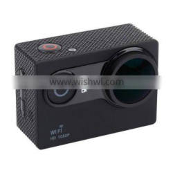2015 July New Arrival 2.0INCH LTPS Wide Screen 170 Degree Aspheric Wide Angle Lens WiFi Sport Action Camera 7 Colors DAMI Brand