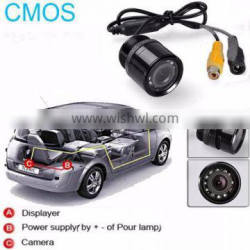 18.5mm drilling Night Vision back up small hidden camera for cars