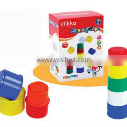 plastic cups building cups stacking cups