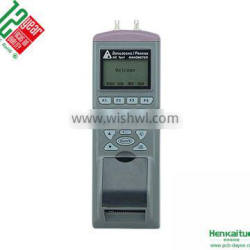 AZ9835 Handheld Precision Digital Air Differential Pressure Datalogger Manometer logger with printer
