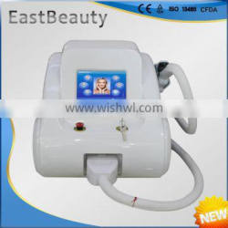 Large spot size hair removal portable ipl