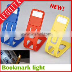 Hot selling most popular useful soft light multi-function book light China