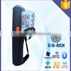 Win CE6.0 Industrial Handheld Barcode Scanner PDA Terminal with 1D / 2D Scan Engine+Bluetooth+Wifi+Printer