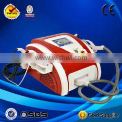 2013 New Arrival 9in1 portable beauty spa equipment(E-light+cavitation+lipolysis+Bipolar rf+Tripolar rf+Vacuum+650nm diode laser