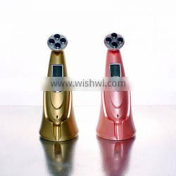 mini galvanic photon ultrasonic ion beauty facial massage for sell/new design anti-wrinkle beauty massager for skincare