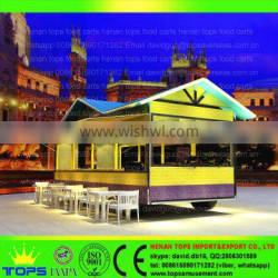 Mobile Catering Trailer Led Display Workshop House Tricycle