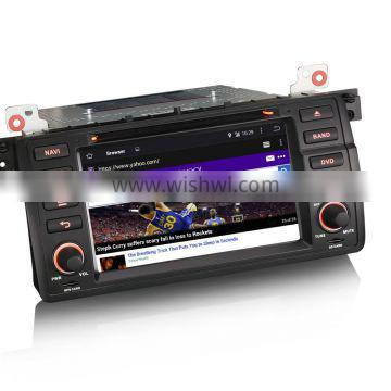 """Erisin ES2046B 7"""" HD Touch Screen Quad-Core Car DVD for Android 4.4.4 E46 3er"""
