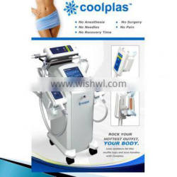 Coolplas cooling Vacuum body Slimming Equipment for Fat Reduce Loss Weight ice freezing cellulite reduce beauty machine
