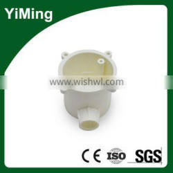 YiMing shallow insulative pvc junction box with one hole