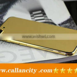 2016 new phone 24k gold housing cover for iPhone 7 plus