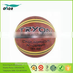 Novelty competetion rubber christmas gifts basketballs