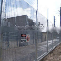 High security anti-climb 358 fence panels railway fencing for sale
