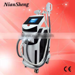 Vertical pain free SHR /IPL hair removal equipment