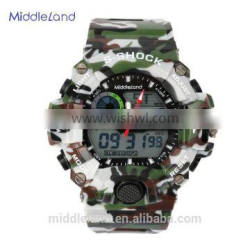 High quality MIDDLELAND 6020 water resistant digital watch plastic sport watches