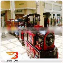 Amusement Rides electric Trackless Train Tourist Road Train for sale