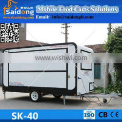 New!China fast food carts/hamburgers food carts/ice cream food carts