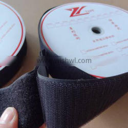 Wide Hook And Loop Tape Fire Proof Heat Resistance Adhesive Medical Machinery
