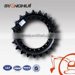 Highly-efficient excavator undercarriage sprocket for IHI55 track drive wheel