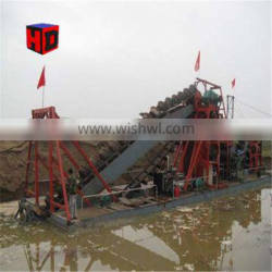 China Gold Dredging Machine Sand Mining Dredger for Sale