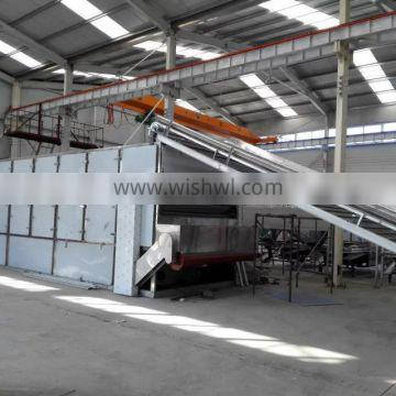 Big Capacity Continuous Hot Air Carrot Slices Cubes Dices Drying Machine Blet Dryer