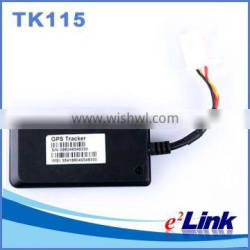 Motorcycle gps tracker with Web browser platform, Smart phone app platform and SMS query