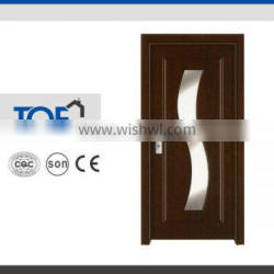 Glass interior PVC door (Best price.top quality,quickly lead time.good service)