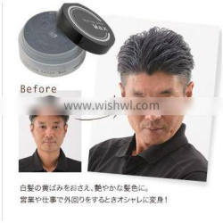 Reliable and Easy to use hair color styling gel with multiple functions made in Japan.