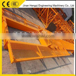 Competitive Price small tower crane moving rail self erecting inner climbing tower crane