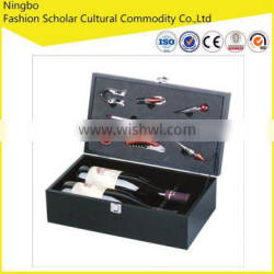 factory directly supply high quality solid wood wine box