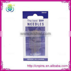 2016 good quality cheap multi-function Mild Steel pearl Hand Sewing Needles