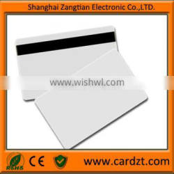13.56mhz rfid card Magnetic card with blank background rfid security