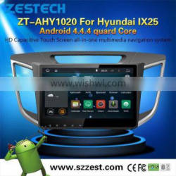 NEW HOT SELL car stereo for Hyundai Android 4.4.4 up to 5.1 OBDII 1.6GHz MCU 3G WiFI