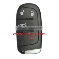 GM Dodge 3+1 button remote key with 433Mhz