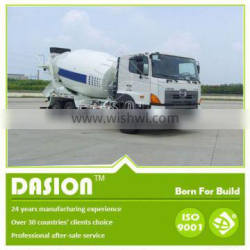 DSTM-3 concrete mixer truck dimensions with 3m3 mixing capacity