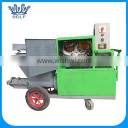 big projects used spraying machine for cement and fine sand