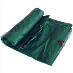 Wood Stack Cover Grass Green Tangerine Tarpaulin Corrosion Resistant