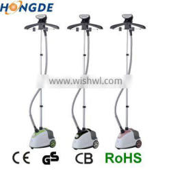 ningbo best sale quality products garment portable steamers with electric clothes hanger 1500W
