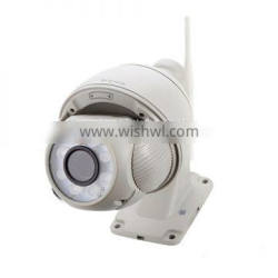 Sricam SP008 IR-CUT CMOS Night Vision Pan Tilt Zoom Outdoor Waterproof Dome IP Camera,Support 128G TF Card and NVR