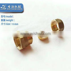 Iron male and female hose barb fitting