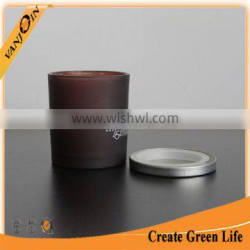 Customized 10oz Amber Glass Candle Cup Cheap Price