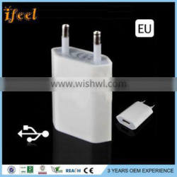 Universial Usb Travel Chargers Full 5V 1a Eu Wall Charger