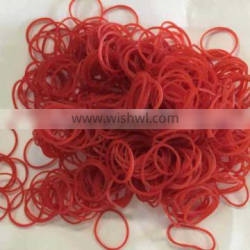 Wholesale Red Color Rubber Bands