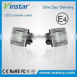 New LED License Plate Lamp for W176 E mark LED Moudle Plate Lights