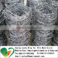 1.6mm-2.5mm Galvanized Barbed Wire cheap price factory