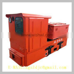 Small Electric Fuel For 600 Narrow Gauge Mining Electric Locomotive