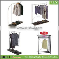 SSW-CM-160 Custom Metal Racks for Clothes China Manufacturer Direct Sales